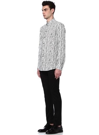 Desenli Uzun Kollu Gömlek-Dolce&Gabbana